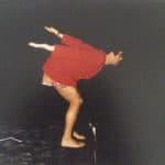 Mario Ricci. Illuminazione. 1967. Foto di diapositiva proiettata.