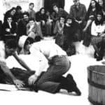 Remondi e Caporossi, Pozzo, 1978. Frame dal video.