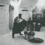 Remondi e Caporossi. Pozzo. 1978. Remondi scopre Caporossi nel pozzo.