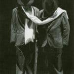 Remondi e Caporossi. Rem & Cap. 1988. Prima scena: dagli abiti iniziano a germogliare i corpi.