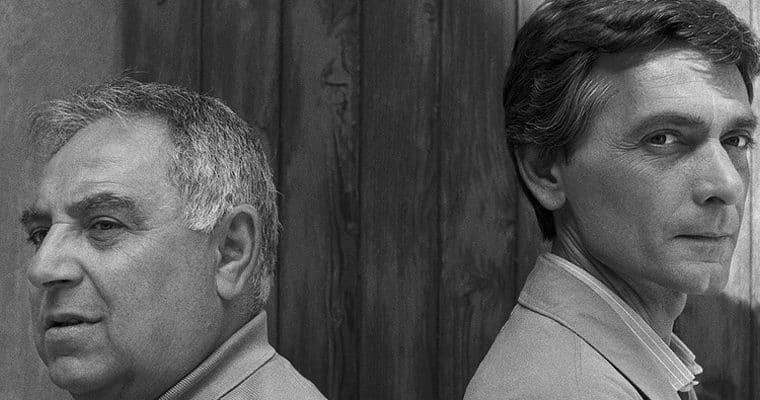 Claudio Remondi e Riccardo Caporossi. Foto di Dino Ignani. © Tutti i diritti riservati.