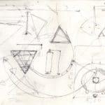 Mario Ricci. Illuminazione. 1967. Disegno originale di Umberto Bignardi.
