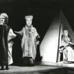Macbeth. Mario Ricci. 1972. Foto Sergio Rossi (da Fondo Brunella Eruli, Charleville-Mézières, Institut International de la Marionnette)