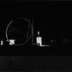 Mario Ricci, Movimento uno e due, 1964, foto di Pietro Galletti, archivio 'Skema', pubblicata in Franco Quadri, L'avanguardia teatrale in Italia (materiali 1960-1976), 2 voll., I, Einaudi, Torino 1977.