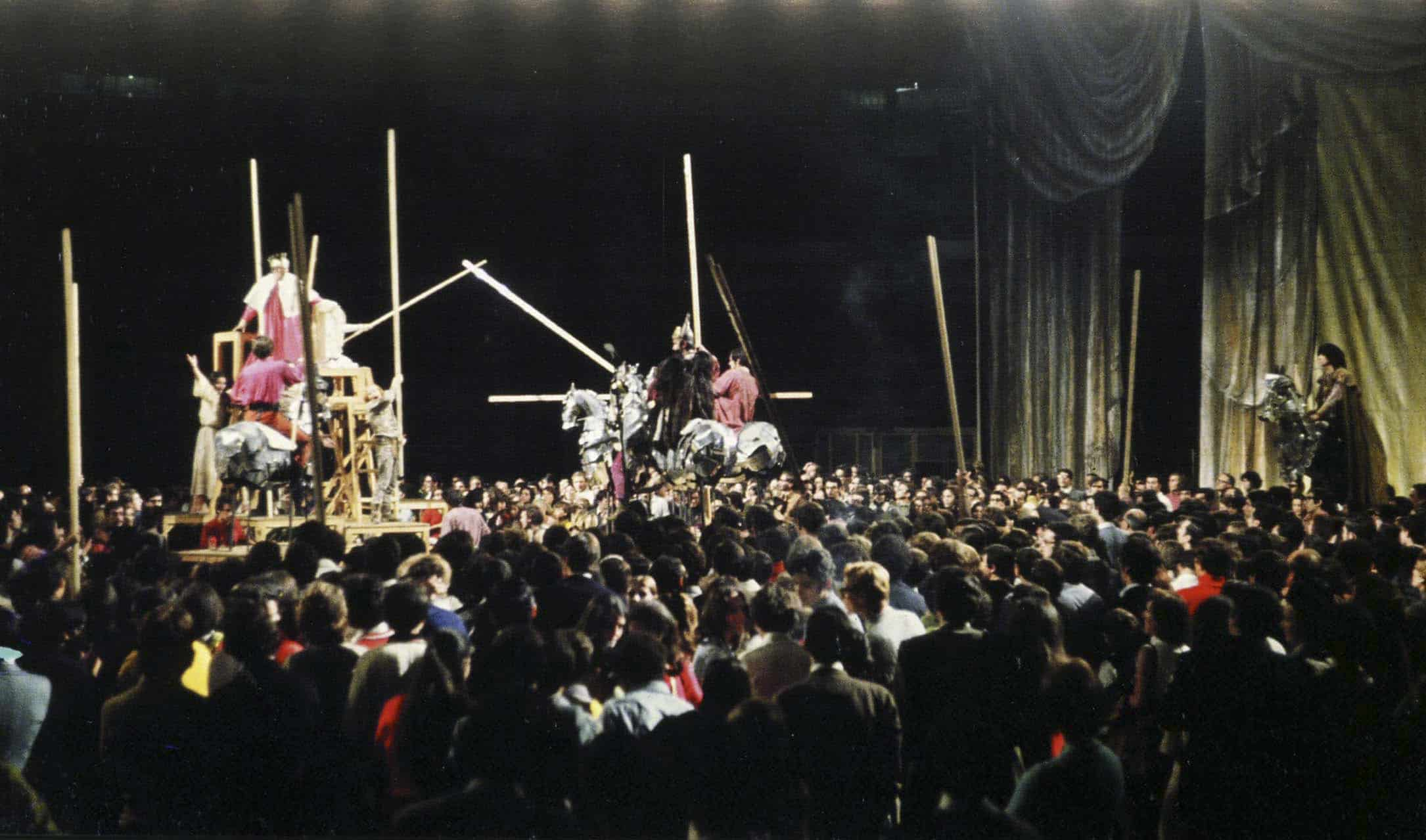 Luca Ronconi. Orlando furioso. 1969. Pubblicata in Claudio Longhi, '«Orlando Furioso» di Ariosto-Sanguineti per Luca Ronconi', ETS, Pisa 2006