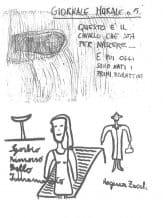 Giuliano Scabia. Marco Cavallo. 1973. Giornale Murale,pubblicato in G. Scabia, 'Marco Cavallo. Un'esperienza di animazione in un ospedale psichiatrico', Einaudi, Torino,1976.