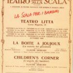 Teatro Alla Scala-Teatro Litta, Affiche 1986