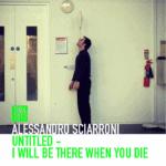 Alessandro Sciarroni. UNTITLED_I Will Be There When You Die. 2013. Locandina per la rassegna DNA2013 all'interno del Romaeuropa Festival 2013.
