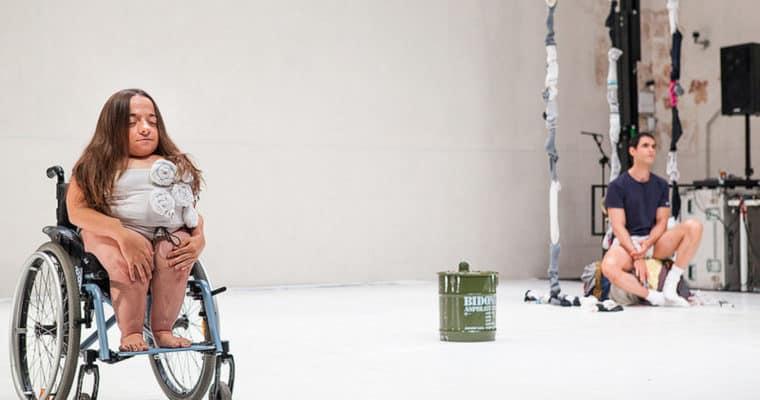 Alessandro Sciarroni. Your girl. 2007. Chiara Bersani e Matteo Ramponi. ©foto di Juan Miguel Ponce per Festival 10 Sentidos