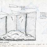 Fabrizio Montecchi, Studio per scena de Il Corpo sottile, Album aprile-ottobre 1988. Archivio privato dell'artista