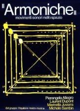 Tam Teatromusica. Armoniche.1980. Locandina di Michele Sambin.