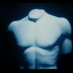 Studio Azzurro. Delfi (studio per suono, voce, video e buio). 1990. Foto di Studio Azzurro. Archivio Studio Azzurro.