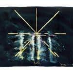 Michele Sambin, Armoniche, Disegno partitura, 1980