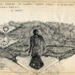Fabrizio Montecchi, Studio per Il corpo Sottile, cit. Canetti. Archivio privato dell'artista.