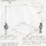 Fabrizio Montecchi, Studio per Il corpo sottile, Album maggio-ottobre 1988. Archivio privato dell'artista