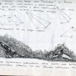 Fabrizio Montecchi, Bozzetto per Préludes 2, Album 1988. Archivio privato dell'artista