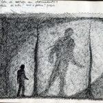 Fabrizio Montecchi, Bozzetto per Préludes, Album 1988. Archivio privato dell'artista