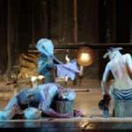 Paesaggio con fratello rotto. Teatro Valdoca. 2005. ©foto Paolo Rolando Guerzoni.