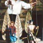 Mimmo Cuticchio. Don Giovanni all'Opera dei Pupi. Palermo. Teatro Bellini. 2002