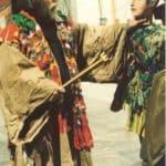 Mimmo Cuticchio. Macbeth per Pupi e Cunto. 2001.