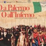 Mimmo Cuticchio. O a Palermo o all'inferno. Ovvero lo sbarco di Garibaldi in Sicilia. 2011. Cartolina