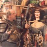 Mimmo Cuticchio. Il risveglio di Don Chisciotte. 2005. Mimmo Cuticchio (regista-narratore) e Vincent Schiavelli (Don Chisciotte).