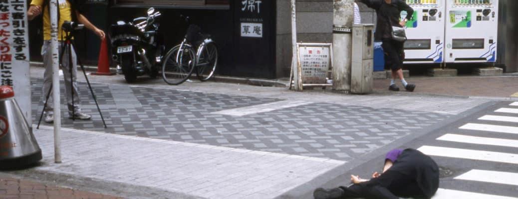 Kinkaleri. WEST(Tokyo). 2007. Backstage. © Kinkaleri