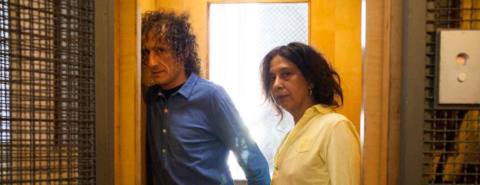 Antonio Rezza e Flavia-Mastrella. © Foto di Giulio Mazzi. Particolare