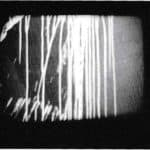 Achille Perilli. Collage. 1961. Fotogramma dal film Collage (1961, 16mm, 4'30''), scena 8.