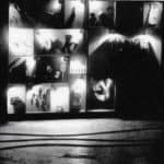Achille Perilli. Collage. 1961. Scena finale dell'armadio. Foto di Oscar Savio.