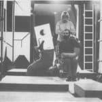Achille Perilli, Gruppo Altro. Altro/Merz.1973. Attore mutante. Pubblicata in 'altro. Dieci anni di lavoro intercodice', edizioni Kappa, 1981