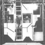 Achille Perilli, Gruppo Altro. Altro/Merz.1973. Auguste Bolte interroga gli abitanti della casa. Pubblicata in 'altro. Dieci anni di lavoro intercodice', edizioni Kappa, 1981