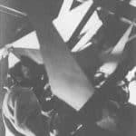 Achille Perilli, Gruppo Altro. Altro/Merz.1973. Costruzione ed evoluzione delle forme geometriche composte da legno e corpi. Pubblicata in 'altro. Dieci anni di lavoro intercodice', edizioni Kappa, 1981