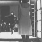 Achille Perilli, Gruppo Altro. Altro/Merz.1973. L'uomo a cavallo si avvicina ad Auguste Bolt. Pubblicata in 'altro. Dieci anni di lavoro intercodice', edizioni Kappa, 1981