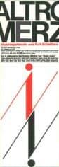 Achille Perilli, Gruppo Altro. Altro/Merz. 1973-74. Locandina
