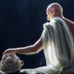 Socrate il sopravvissuto. Anagoor. 2016. Domenico Santonicola è Socrate. Foto di © Meri Cannaviello
