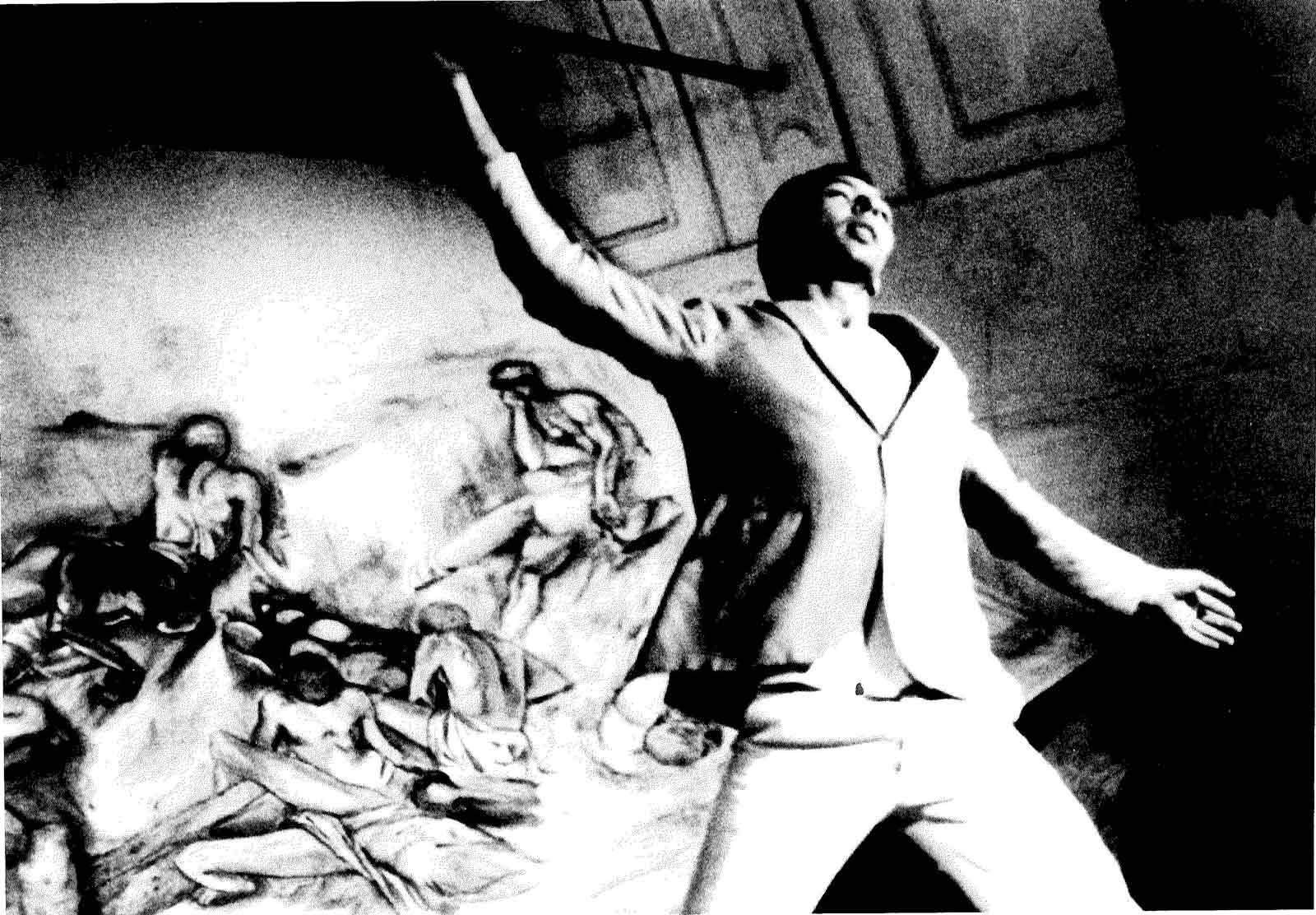 Danio Manfredini, Miracolo della rosa, 1988. Archivio privato de la Corte Ospitale, 1988.