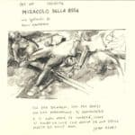 Danio Manfredini, Miracolo della rosa. 1988. Locandina, inedito conservato presso l'Archivio Privato de La Corte Ospitale.