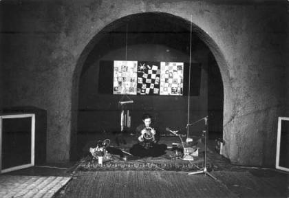 Alvin Curran. Canti e vedute del giardino magnetico. 1974.